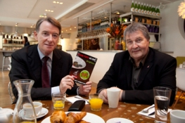 Lord Mandelson and Unite joint general secretary Derek Simpson discuss the new best practice code